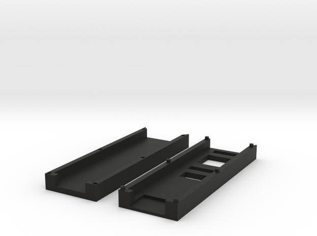 Sparkfun Tiny AVR Programmer Case in Black Natural Versatile Plastic