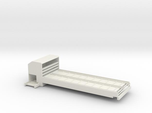 1/64 Bale Processor in White Natural Versatile Plastic