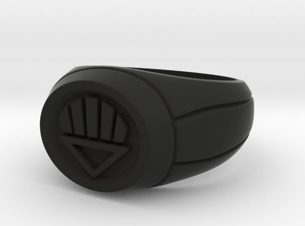Black Lantern Ring 3d printed