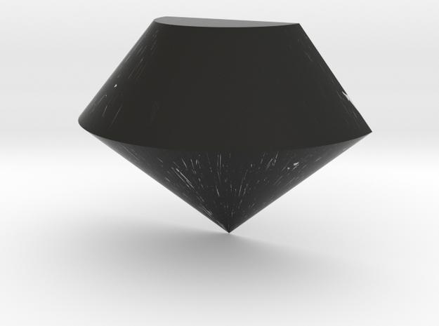 Half Diamond in Black Strong & Flexible