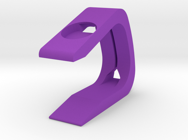 Apple Watch Stand in Purple Strong & Flexible Polished