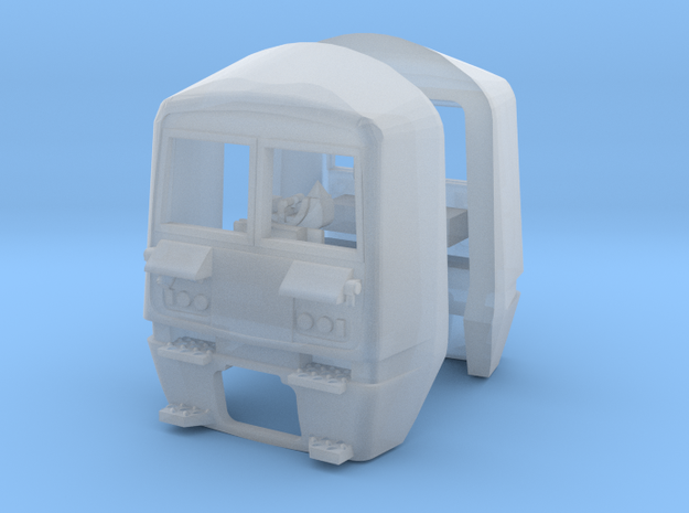 Class 456 Cabs for N Gauge, 1:148th Scale 3d printed