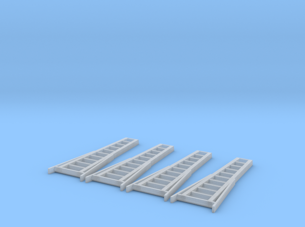 N Scale 11' Ladder X4 3d printed 9' and 11' Ladders