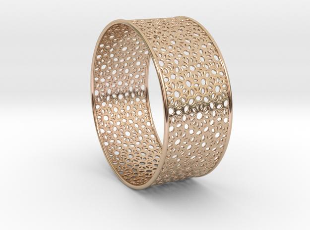 7cm Bracelet Flower Pattern Flat