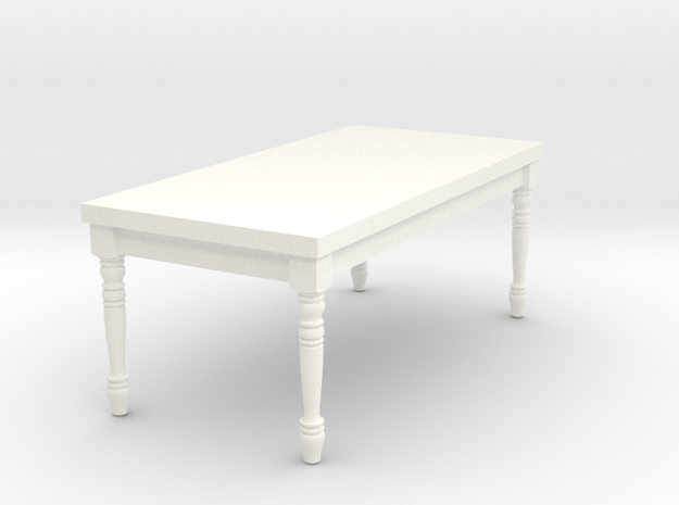 1:24 Half Scale French Country Dining Table 1