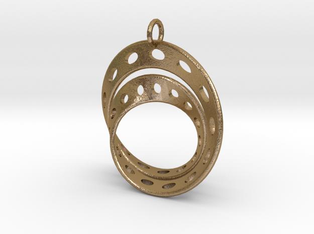 Fantasy-6 in Polished Gold Steel