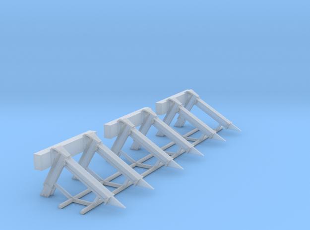 N Stootjuk NS (3 stuks) 3d printed