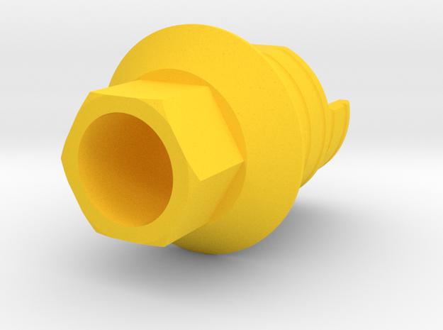 ZIM X6 OK - IND3ZIMH35 X6-1 in Yellow Processed Versatile Plastic