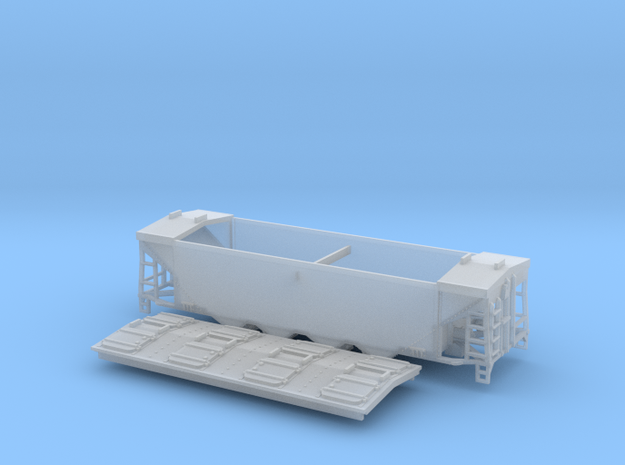 U10 N Scale Original Style Roof without Roofwalk 3d printed