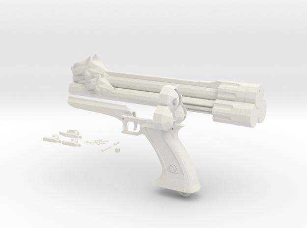Vincent Cerberus Revolver in White Strong & Flexible
