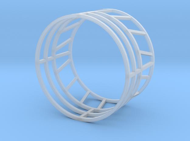 Round Bale Feeder in Smooth Fine Detail Plastic