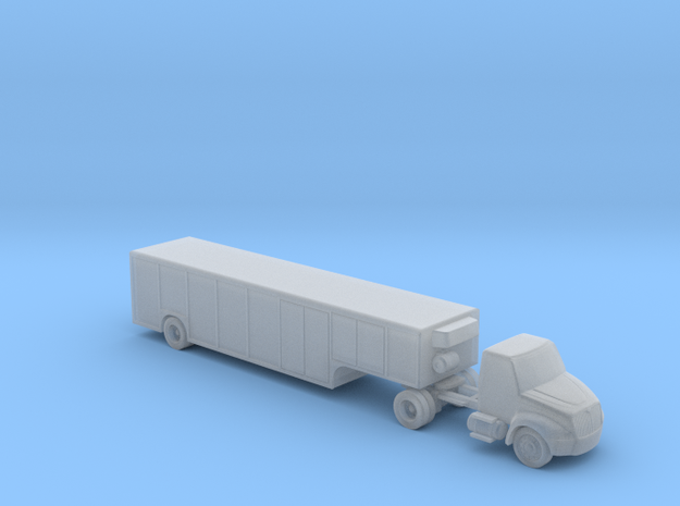 IH 2012 Durastar with Beverage Trailer - Zscale 3d printed