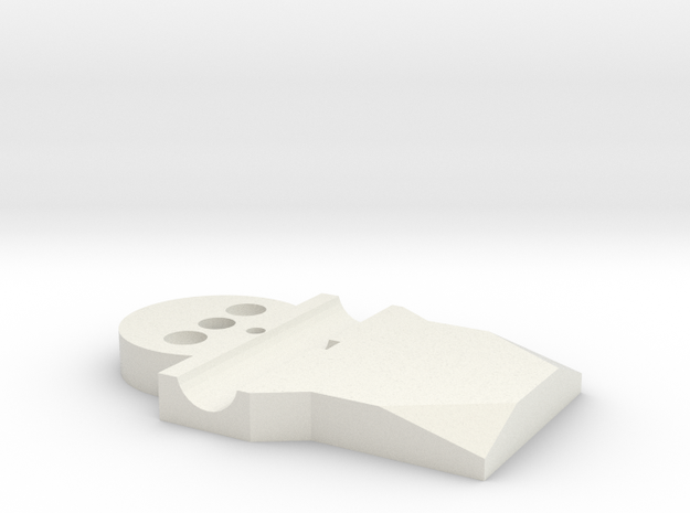 Top Plate in White Strong & Flexible