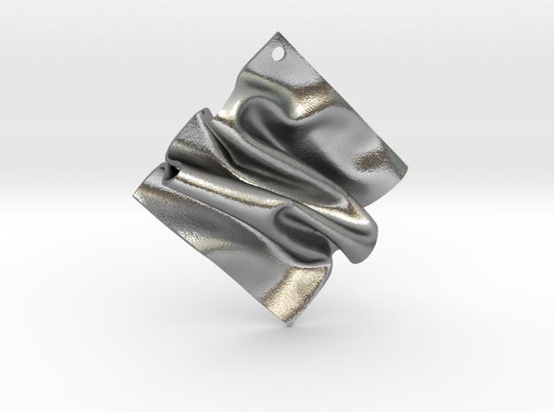 Drape A in Natural Silver