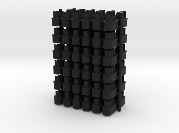 GWR Dwarf 4mm Signal Head in Black Natural Versatile Plastic