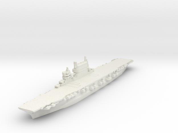 1/2400 Lexington Class CV (1944) in White Natural Versatile Plastic