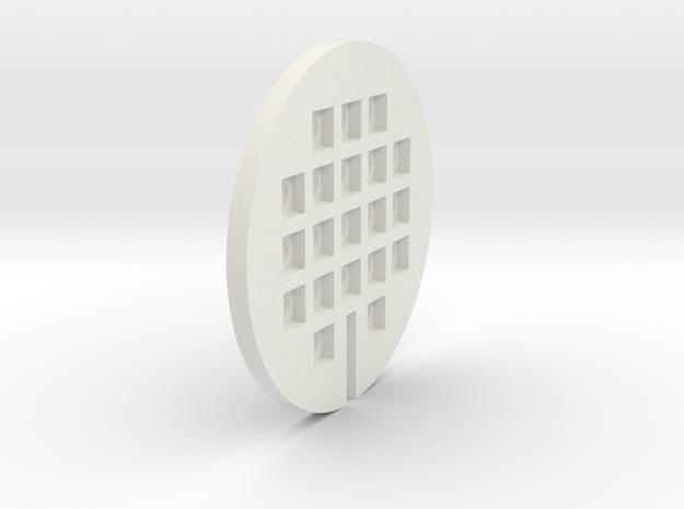 LightMount1 in White Natural Versatile Plastic
