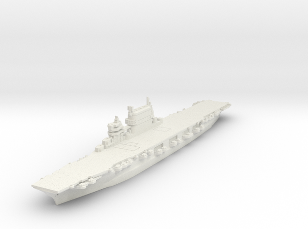 1/1800 Lexington Class CV (1944) in White Natural Versatile Plastic