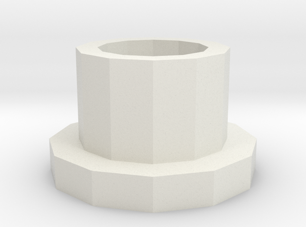 Spincolumn adapter for 5mL tubes in White Natural Versatile Plastic