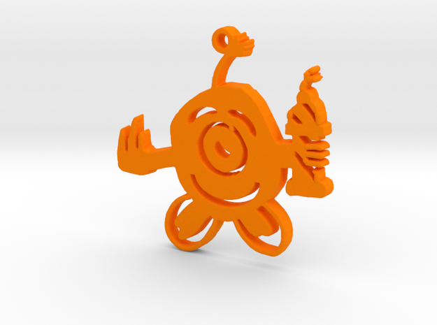 Sem's Bomberman in Orange Strong & Flexible Polished