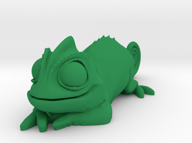 Pascal Chameleon in Green Strong & Flexible Polished