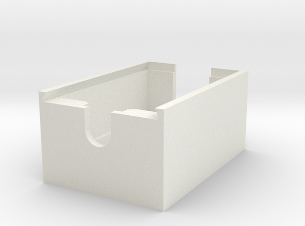 xBee Enclosure Case for Parallax xBee USB Adapter  in White Strong & Flexible