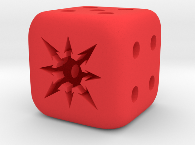 Chaos Dice 3d printed