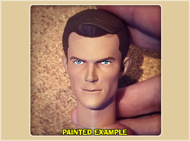 1:6 Scale James West Head