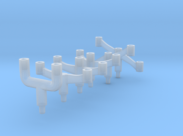 Arm Small Ship Trees in Smooth Fine Detail Plastic