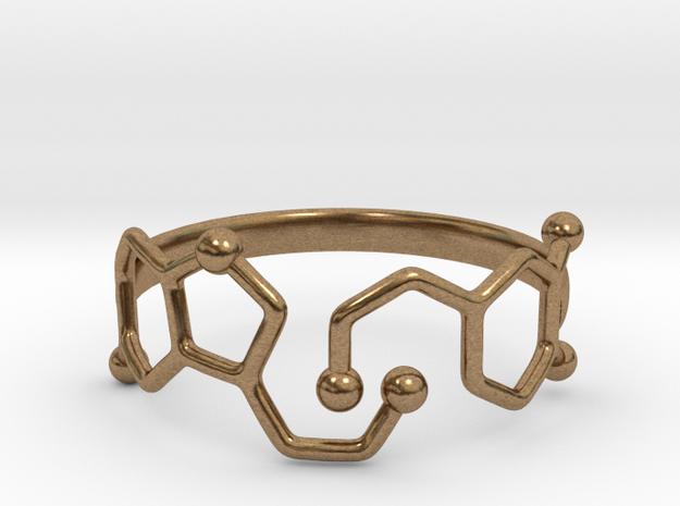 Dopamine Serotonin Molecule Ring - Size 11