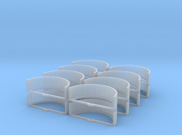 1/87 HO Kotflügel für Großflächenstreuer in Frosted Ultra Detail