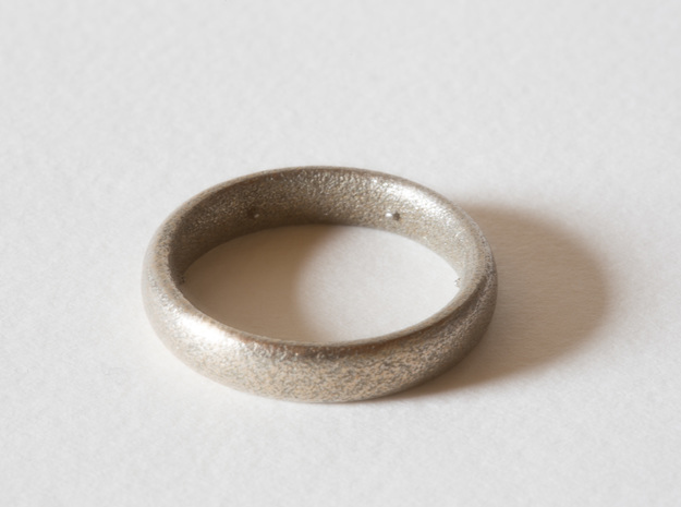 Max Pain Ring in Stainless Steel: 8 / 56.75