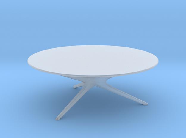 Mid-Century Modern Round Coffee Table 1:48