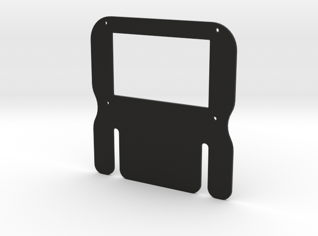 HTC - Mounting Plate - OpenSimWheel in Black Natural Versatile Plastic