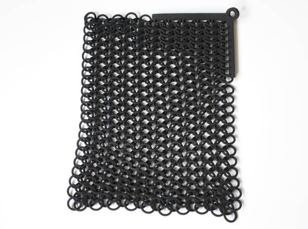 Chainmail  in Black Natural Versatile Plastic