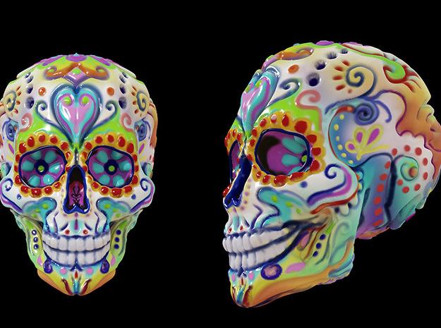 Skull10cm 3d printed