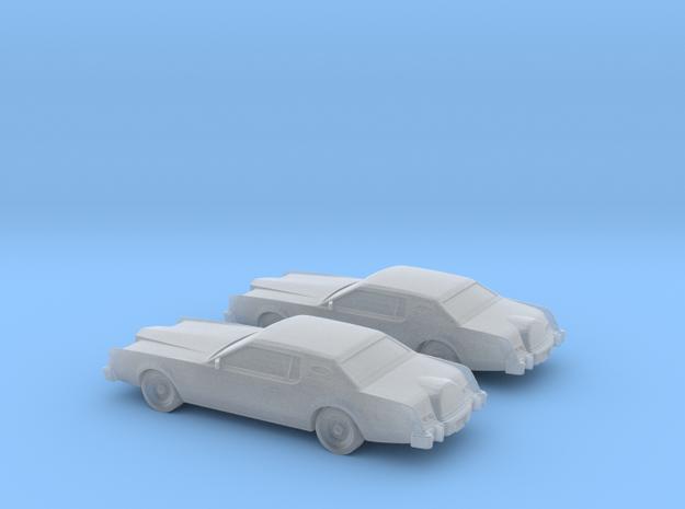1/160 2X 1974 Lincoln Mark IV