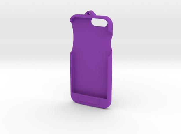 iPhone 6 - LoopCase w FlexFace Button in Purple Processed Versatile Plastic
