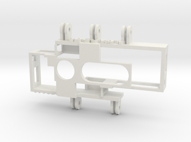 Adjustable IA SuperHero 3D Rig in White Natural Versatile Plastic