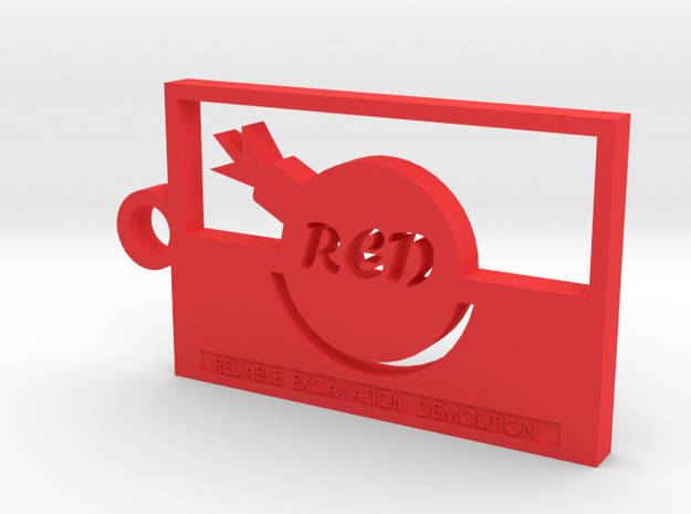 Team Fortress 2 Red Team Keychain