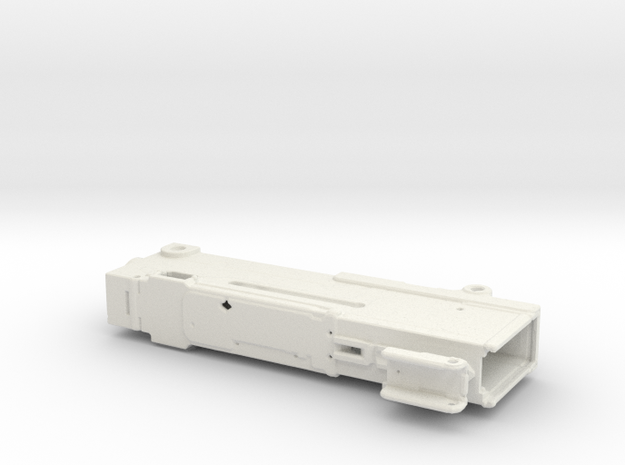Batmobile Controller in White Natural Versatile Plastic