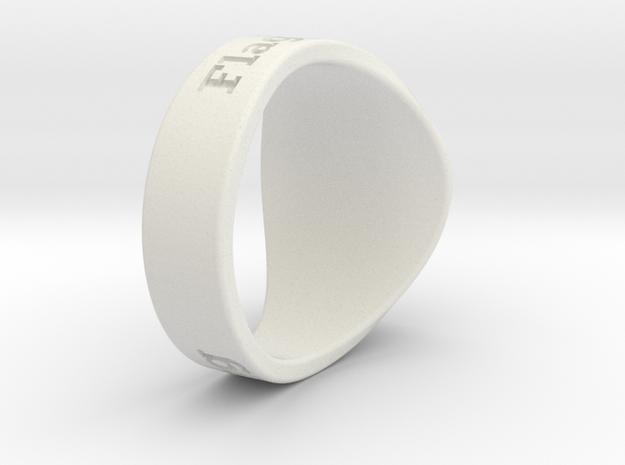 Superball G1nseng Ring Season 2 in White Natural Versatile Plastic
