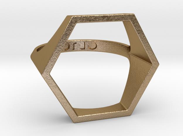 Hexagon Ring - Sz5