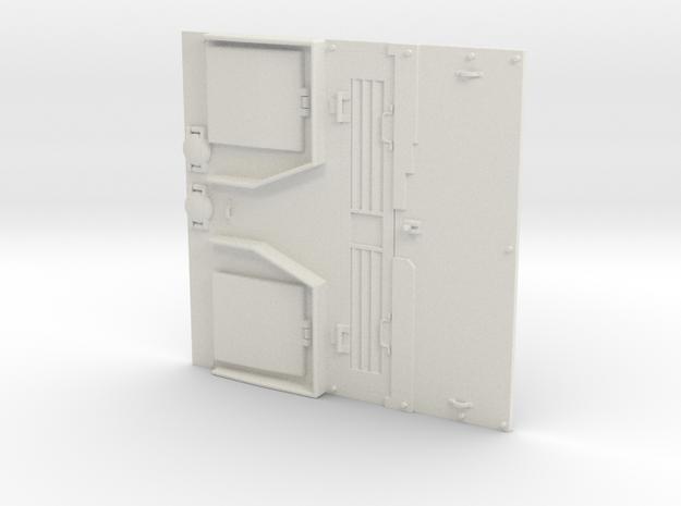 1/16 IDF M50 Mid Production Engine deck. in White Natural Versatile Plastic