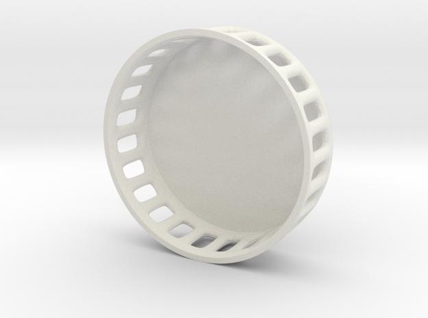 DJI Phantom 3 Lens cap v2 in White Natural Versatile Plastic