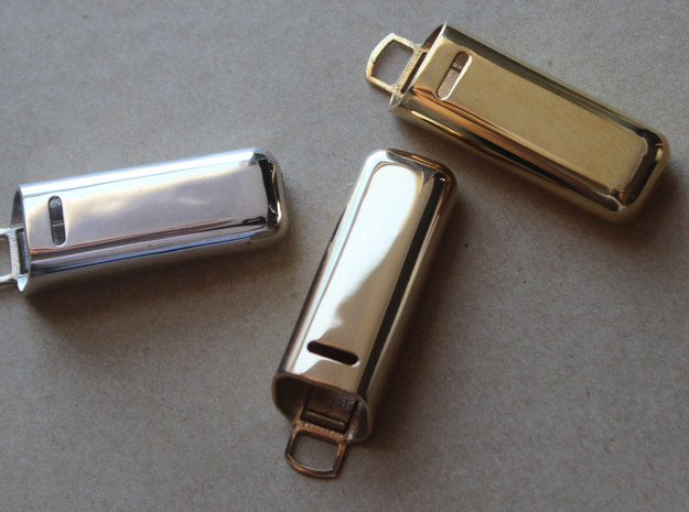 Fitbit Flex Armour - Clip (Precious Metal) in 18k Gold Plated Brass