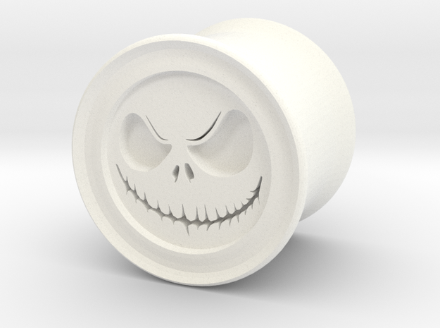 """Skelly 1/2"""" (12.7mm) Plugs in White Strong & Flexible Polished"""
