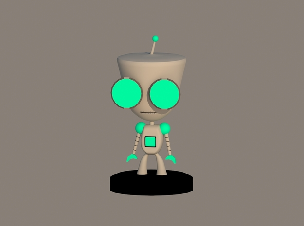 Gir 3d printed Rendered preview