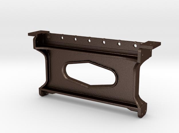 No. 23 Middle Brace Crosstie #6644 REV .625 Plus 1 in Matte Bronze Steel
