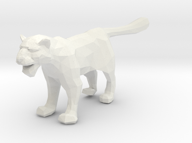 Snow Leopard - Toys in White Natural Versatile Plastic